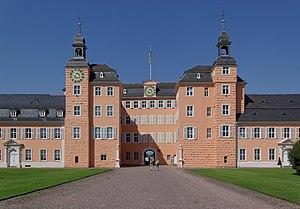 Schwetzingen Palace - Schwetzingen Palace (entrance side)