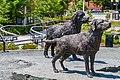 Sculptures Of Newfoundland Dog St John Newfoundland (40650875594).jpg