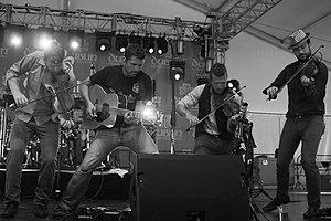 Scythian (band) - Scythian performing in 2014