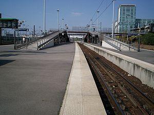 Stade de France – Saint-Denis (Paris RER) - Platforms
