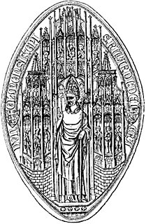 Richard de Bury 14th-century Bishop of Durham, Chancellor of England, Treasurer of England