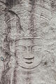 Seated Bodhisattva Carved on the Rock at Hakdoam temple in Seoul, Korea 11.jpg