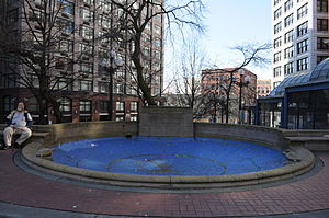 Francis X. Prefontaine - Image: Seattle Prefontaine Fountain 01