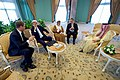 Secretary Kerry Chats with UK Under Secretary Ellwood (31345942310).jpg