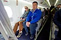 Secretary Kerry Sits With Greenlandic Premier Kielsen as They Prepare to Fly to Ilulissat, Greenland (27755595205).jpg