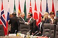 Secretary Tillerson in conversation with Chinese Foreign Minister Wang Yi at the G-20 Foreign Ministers' Meeting in Bonn (32949410305).jpg
