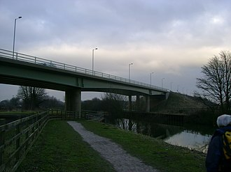 A63 road - Image: Selby Canal A63 Bridge geograph.org.uk 1727336