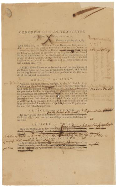 File:Senate Revisions to House Proposed Amendments to the U.S. Constitution.djvu