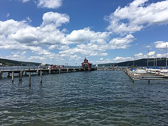 Seneca Lake (New York) - Seneca Lake from Watkins Glen