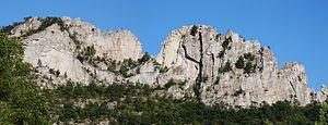 Seneca Rocks - Image: Seneca Rocks front 1