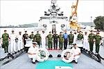 Senior General Min Aung Hlaing C-in-C Myanmar Armed Forces and fifteen member high level delegation onboard INS Satpura.jpg