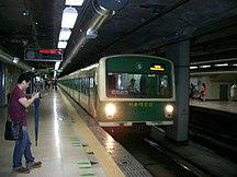 Seoul-Tunnelbana-Seoul Subway Line 2 서울지하철 2호선 - Flickr - skinnylawyer