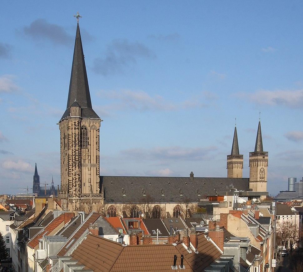 Severeinskirche aus Severinstorburg 2009