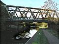 Sewage works railway bridge - geograph.org.uk - 266101.jpg