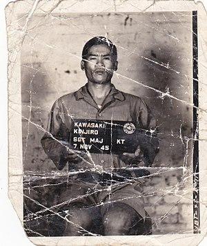 Kalagong massacre - Sgt Major Kawasaki Kinjiro - Kalagong Massacre