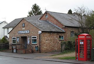 Shepreth village in the United Kingdom