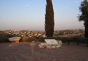 Shilat - Memorial to 45 fallen soldiers