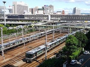 Shin-Ōsaka Station - Image: Shinosaka minami