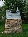 Ship sculpture - geograph.org.uk - 426396.jpg