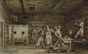 Boris Godunov (play) - Image: Shishkov Inn