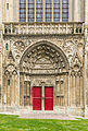 Side entrance cathedral Bayeux.jpg