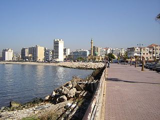 Sidon City in South Governorate, Lebanon