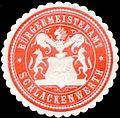 Siegelmarke Bürgermeisteramt Schlackenwerth W0317741.jpg