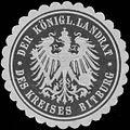 Siegelmarke Der K. Landrat des Kreises Bitburg W0382072.jpg