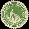 Siegelmarke Gemeinde-Vorstand Dranse Kreis Ost-Prignitz W0314490.jpg