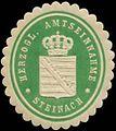 Siegelmarke H. Amtseinnahme Steinach W0344499.jpg