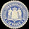 Siegelmarke Königliche Eisenbahndirektion in Posen W0212936.jpg