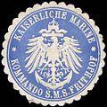 Siegelmarke Kaiserliche Marine - Kommando der S.M.S. Frithjof W0262544.jpg