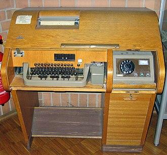 Trading room - Teletype