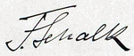 Signature of Franz Schalk (1863–1931) 1915.png