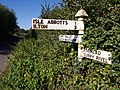 Signpost near Two Bridges - geograph.org.uk - 557081.jpg