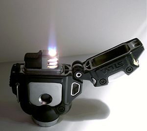 A Silva Helios rope burner/lighter. Piezoelect...