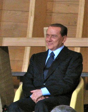 Prime minister of Italy Silvio Berlusconi at V...
