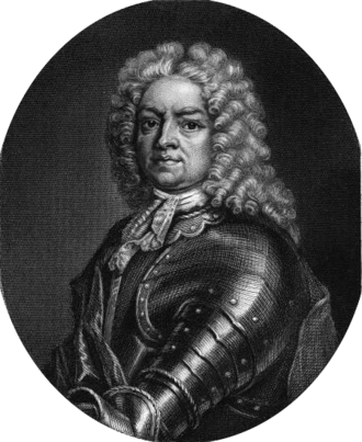 """Simon Fraser, 11th Lord Lovat - Picture of Lord Lovat in """"Memoirs of the Jacobites""""."""