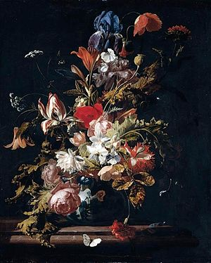 Simon Pietersz Verelst - Flower still life