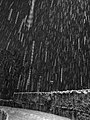 Sinigo under the snow in South Tyrol Italy Photo by Giovanni Ussi Bnw by night (11).jpg