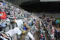 Sir Bobby Robson tributes at St James' Park, 5 August 2009 (6).jpg