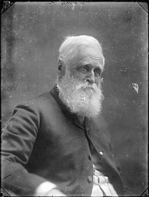 William Fox (politician) - Sir William Fox, ca 1890