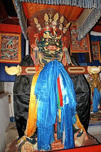 Chinese Esoteric Buddhism - Mongolian Sita Mahakala (Gonggor), Erdene Zuu Monastery