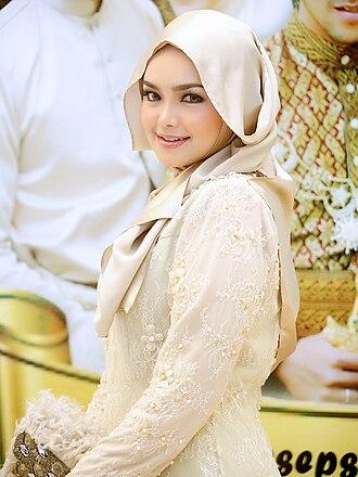 Siti Nurhaliza - Siti Nurhaliza attending the wedding of Khairul Fahmi Che Mat on 13 January 2013 at Hotel The Royale Bintang, Damansara, Kuala Lumpur, Malaysia.