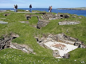 House 9 of Skara Brae.