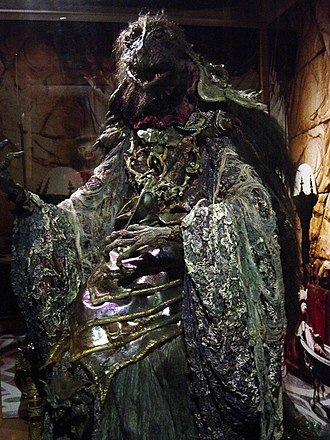 The Dark Crystal - One of the original Skeksis costumes, on display at the Center for Puppetry Arts in Atlanta, Georgia, USA.
