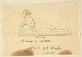 "Sketch of Statue- ""Bacchante by Bartolini"" MET DP804245.jpg"