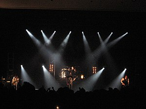 English: Skillet performing live.