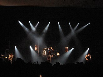 Skillet (band) - Skillet performing live on April 12, 2008 at Anderson University, Anderson, Indiana.