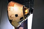 Skylab 4 Command Module - Space Hall - Smithsonian Air and Space Museum - 2012-05-15 (7239238204).jpg